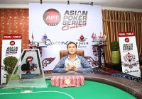 Linh Tran is APT Asian Poker Series Cambodia 2015 Main Event Champion